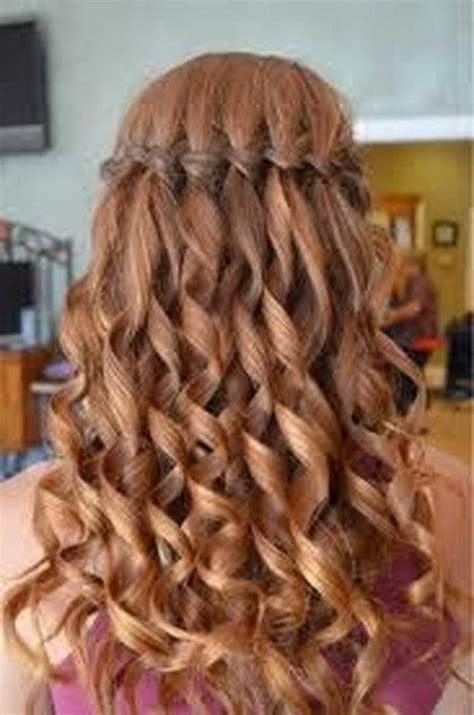 curly hairstyles  graduation