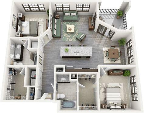 plan appartement 2 chambres les 25 meilleures idées de la catégorie plans d