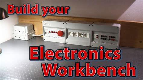 electronics workbench   build electrical panel