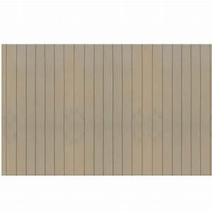 Panneau Décoratif Extérieur : panneau d coratif rainur 48 po x 32 po panneaux muraux ~ Premium-room.com Idées de Décoration