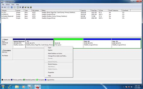 guide to extend c drive with unallocated space in windows 7