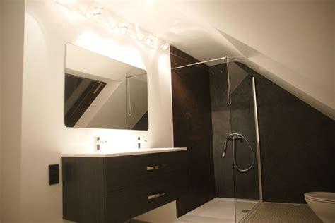 mortexbadkamer schuin dak huis bathroom pinterest