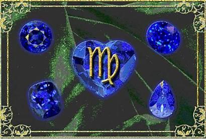 Virgo Sapphire Birthstone Gems Astrology Peace