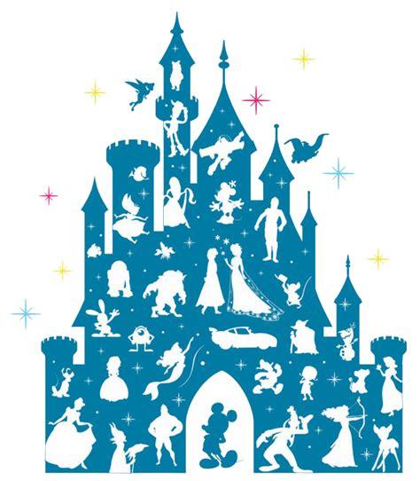 Disney Castle Clipart Disneyland Clipart Blue Castle Pencil And In Color