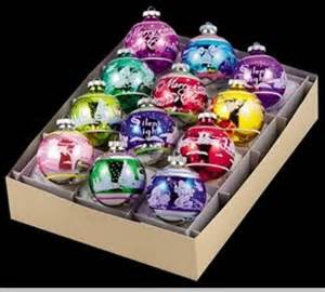 shiny brite by christopher radko flocked signature balls vintage christmas ornaments out of