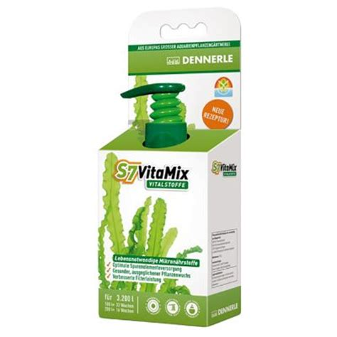 engrais pour aquarium dennerle s7 vitamix 192 prix avantageux chez zooplus