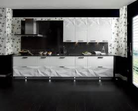 contemporary kitchen backsplashes gloss white kitchen black backsplash interior design ideas