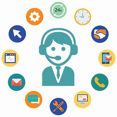 Call Voice Customer Telephone Center Icon Services