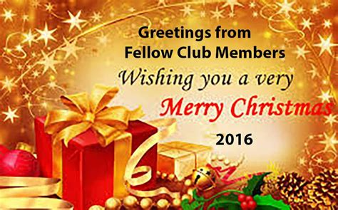 christmas   fellow club members rotary club
