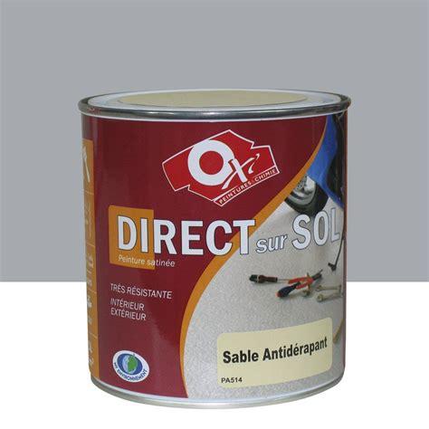 peinture sol exterieur leroy merlin peinture sol ext 233 rieur int 233 rieur antid 233 rapante oxytol gris 0 5 l leroy merlin