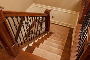 decorative stair railing Staircase with decorative rod