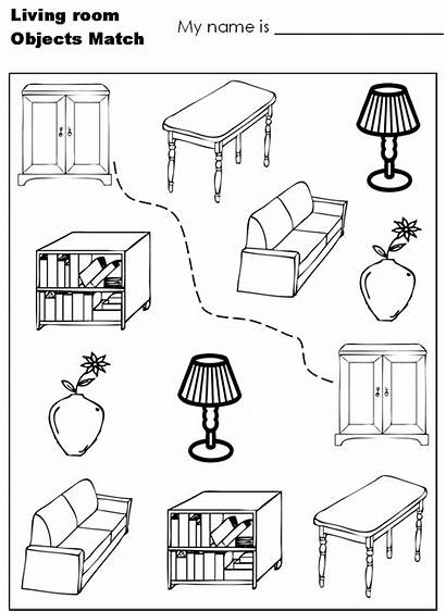 Coloring Living Pages Printable Printables Modern Worksheets