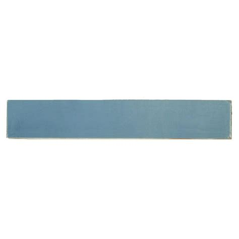 solistone painted cancun light blue 1 in x 6 in