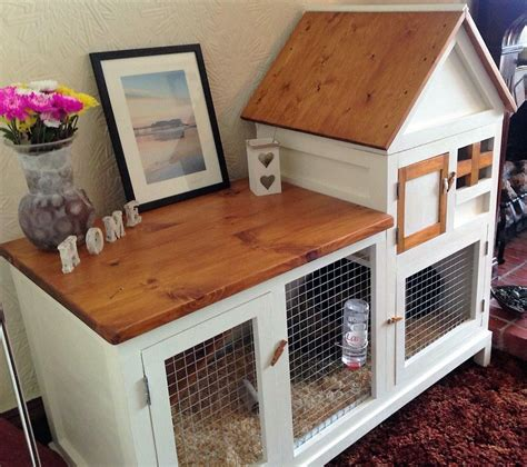 Indoor Rabbit Hutch - 15 inspiring wood working inspiration ideas diy rabbit