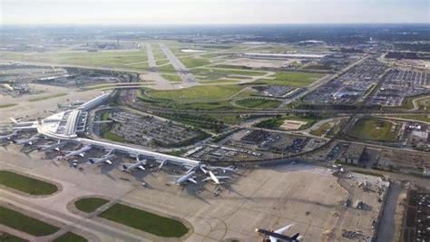 chicago ohare international airport begins  million