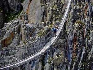 Trift Bridge, the Longest Pedestrian Suspension Bridge in ...