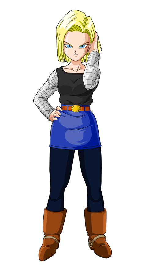 let s animate s android 18 sketch step by step