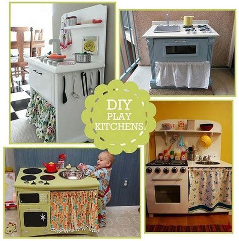 play kitchen ideas diy play kitchens craft ideas girls pinterest
