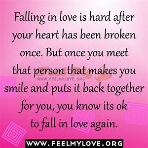 Falling In Love Hurts Quotes. QuotesGram
