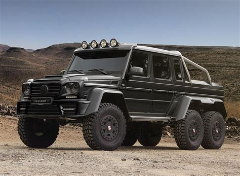 Mercedes-benz Amg G63 6x6 Gronos Off Road Vehicle By Mansory