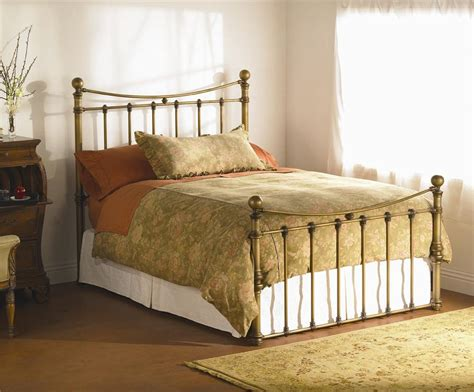 Wesley Allen Quati Queen Headboard And Footboard Iron Bed  Wayside Furniture Headboard