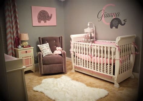 gianna 39 s pink and gray elephant nursery reveal project nursery