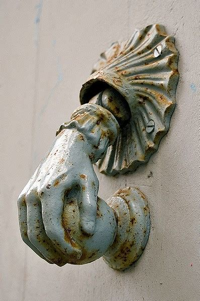 Unique Antique Modern Decorative Door Knockers by Dishfunctional Designs Knock Knock Who S There Awesome