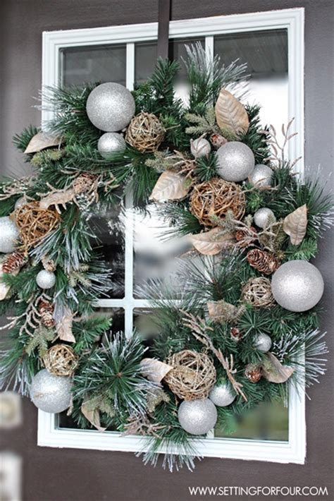 christmas wreath ideas town country living
