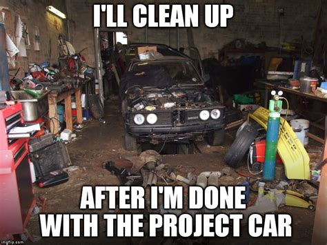 Project Car Memes - project cars are never done