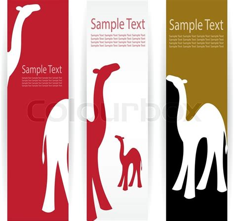 Camel Banners  Stock Vector  Colourbox. Railway Crossing Signs. Chinatown Mural Murals. Possible Cause Signs. Doc Mcstuffin Signs Of Stroke. Where To Buy Vinyl Albums. Effect Logo. Architectural Signage. Angiography Signs