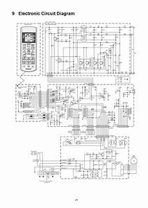 Diagrama El U00e9ctrico De Tarjeta Para A  A Panasonic