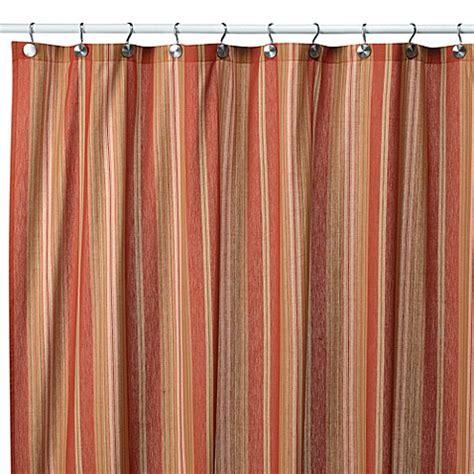 striped shower curtain baja stripe tuscan 72 inch x 72 inch fabric shower curtain
