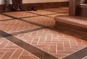 Brick vinyl flooring feel the home for Cost of brick flooring