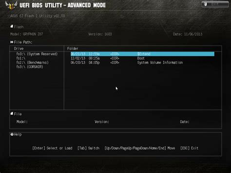 Asus Modified Bios Repository by Bios And Software Asus Tuf Z87 Gryphon Review