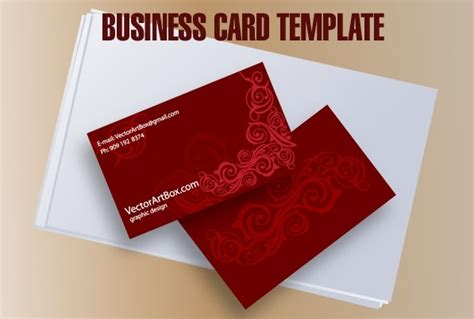 Business Card Template Free Vector In Adobe Illustrator Ai Business Card Size Plastic Wallet Cards Templates Microsoft Open Office Letterhead Template India Fridge Magnets Layout Square