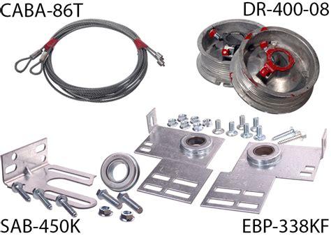 garage door torsion kit torsion conversion kit for 7 high door part
