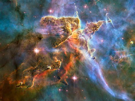 paper lantern: Space/ Carina nebula/ Pillars of creation