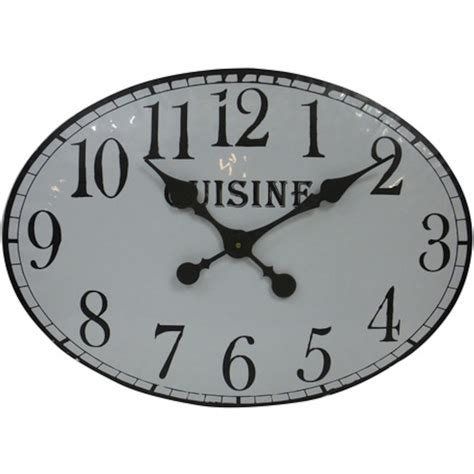 horloge murale cuisine design pendule cuisine design horloge design voile fabrication