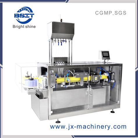 china ml bfs plastic ampoule bottle forming filling sealing machine  pesticide china