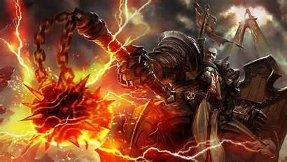 Diablo Reaper Iii Crusader Souls Dark Fan