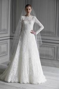 20 of the most stunning long sleeve wedding dresses chic With long gowns for wedding