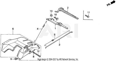 honda eb5000x a generator jpn vin ea7 3000001 parts diagram for