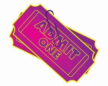 Ticket Admit Clip Clipart Vector Raffle Tickets