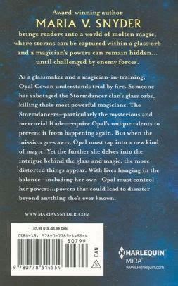 storm glass  maria  snyder paperback barnes noble