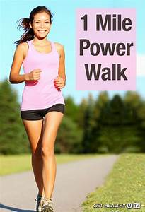 1 Mile Power Walk To Get The Heart Pumping