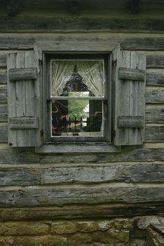 images  log cabin shutters  pinterest log