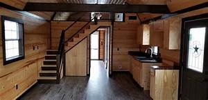 Custom Finished 14 U2032 X 40 U2032 Side Lofted Barn Cabin