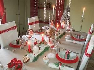 Idee Decoration De Noel Table