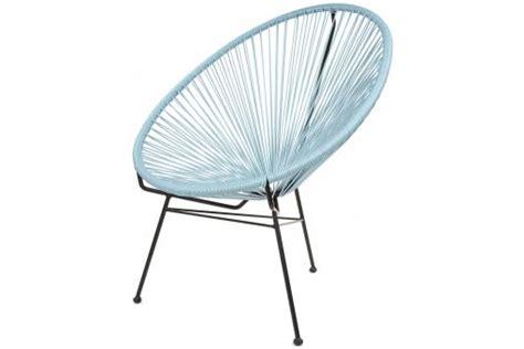chaise acapulco pas cher fauteuil la chaise longue bleu ardoise acapulco fauteuil design pas cher