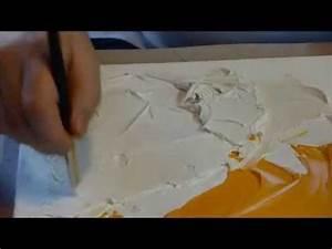 Pate A Bois Comment L Utiliser : comment utiliser le modeling paste sur une toile et ~ Dailycaller-alerts.com Idées de Décoration